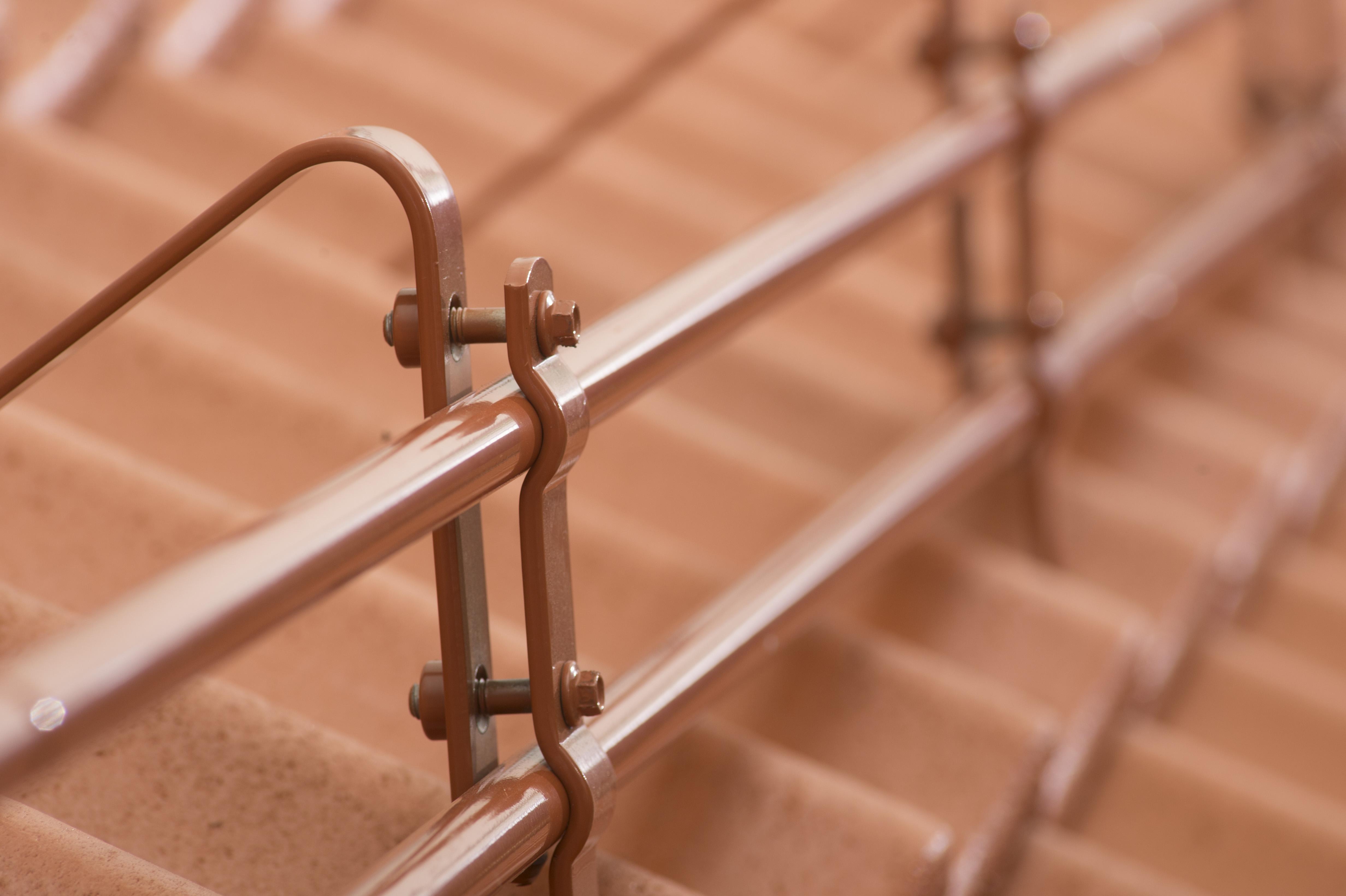 Produktbilde for Gelenderrør 115 cm spesialfarge