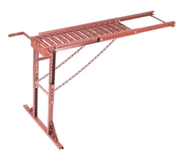 Produktbilde for Pipeplattform 80/130 takstein t-rød
